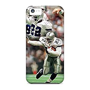 Rosesea Custom Personalized Iphone 5c Cases, Premium Protective Cases With Awesome Look - Dallas Cowboys