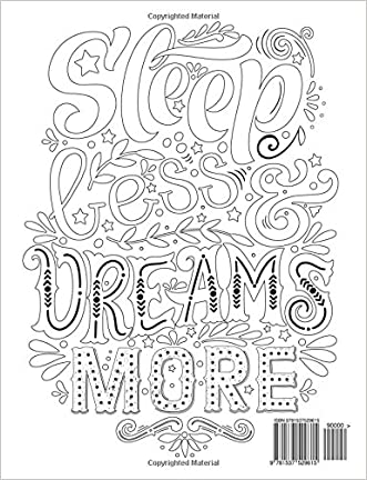 70OFF Adult Coloring Books Good Vibes Dont Give Up Motivate