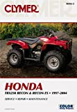 Honda TRX250 Recon and Recon ES 1997-2004, Clymer Publications Staff, 0892879335