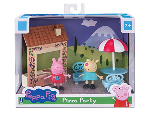 Peppa Pig Playtime Set, Pizza Party (Party Pizza Playset)