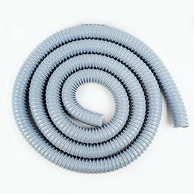 Hi Tech Duravent 035401500001-60 1-1/2-Inch by 10-Feet Vac-U-Flex Hose