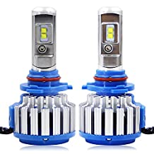 RCP - 9005(HB3) - LED Headlight CREE Bulbs Conversion Kits + Canbus (1 Pair)- 70W 7200Lm White(6,000K) - 2 Year Warranty