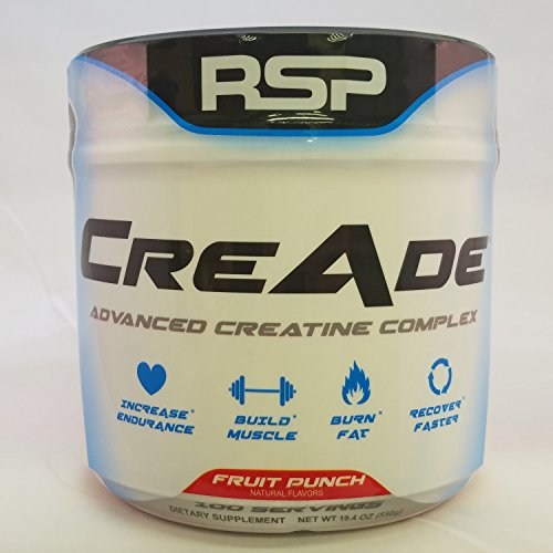 RSP CreAde Advanced Creatine Complex, Fruit Punch, 100 Servings