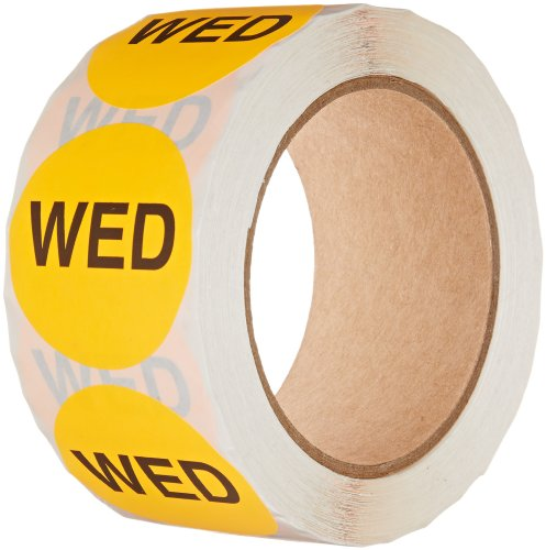 Tape Logic Pre-Printed Days of the Week Inventory