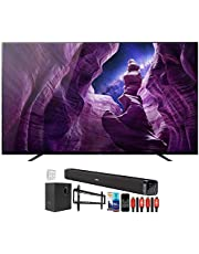 Sony XBR65A8H 65 inch A8H 4K Ultra HD OLED Smart TV (2020 Model) Bundle with Deco Gear Home Theater Soundbar with Subwoofer, Wall Mount Accessory Kit, 6FT 4K HDMI 2.0 Cables and More