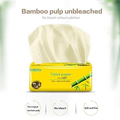 manos para cocina limpieza de alimentos 400 hojas de papel higi/énico desechables blancos papel colador toallas de mano ZT-02 secado 4 capas de papel toallas de papel 10 paquetes