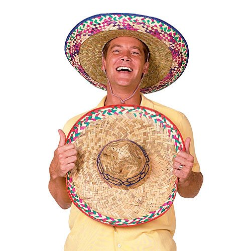Sombrero Party Hat Colors May Vary -