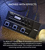 BOSS GT-1 Guitar Multi-Effects Processor Bundle