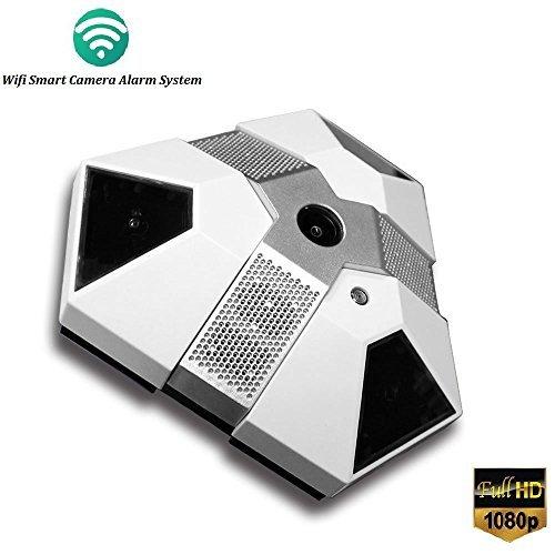 Wifi Security Camera Smoke and Gas Sensor Alarm HD1080P Spy Hidden Camera ,Real Smoke Detecor For Home Using,Wireless Nanny Camera [8GB Micro SD Card Included] [並行輸入品] B01N5LEM7A