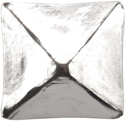 Dritz 44272 Upholstery Decorative Square Head Nails, Nickel, 3/4-Inch, - People With Heads Square