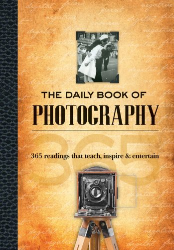 Designed for both the photography enthusiast and weekend warrior, this daily reader offers a broad look at life through the camera lens. From brief biographies of world-renowned photographers to techniques in fashion photography and trends, there ...