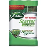 Scotts Turf Builder Lawn Food - Starter Food for New Grass, 5,000-sq ft (Not Sold in Pinellas County, FL)