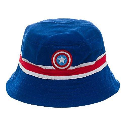 - Captain America Reversible Bucket Hat