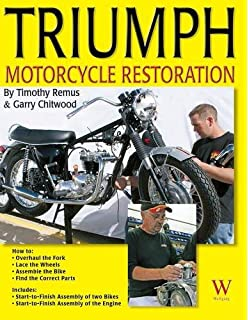 Triumph bonneville and tr6 motorcycle restoration guide 1956 83 triumph motorcycle restoration fandeluxe Gallery
