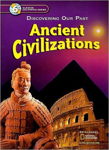 Amazon ancient civilizations discovering our past california ancient civilizations discovering our past california edition student edition fandeluxe Images