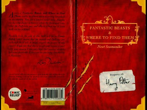 Harry Potter Schoolbooks: Quidditch Through the Ages and Fantastic Beasts and Where to Find Them by Scholastic (Image #2)