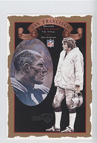 (Y.A. Tittle; Kelly Stouffer (Football Card) 1993 NFL Properties Commemorative Collector Cards - [Base] #111)