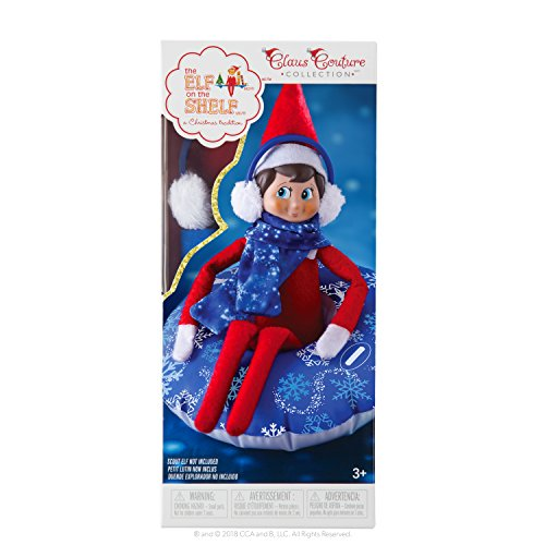 (The Elf on the Shelf Claus Couture Collection Totally Tubular Snow Set)