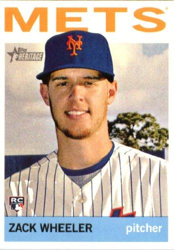 2013 Topps Heritage ENCASED High Number Baseball Rookie Card #H568 Zack Wheeler MINT