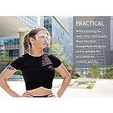 Transparent Blocc Glasses Dustproof Windproof