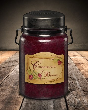 McCall's Country Candles - 26 Oz. Chocolate & Berries