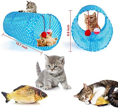 AILUKI 29 PCS Cat Toys Kitten Toys Assortments 3