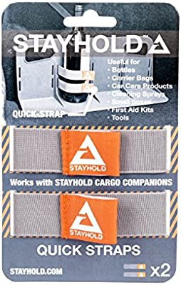 Car Trunk Organizer Straps /Fits STAYHOLD Classic and Mini Cargo Holders Stayhold Quick Strap for Modular Cargo Organizer 2 Pack