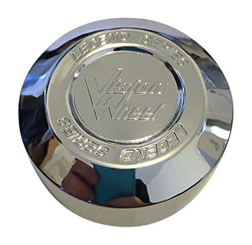 Vision Wheels Legend Series 6 Spoke 141-T-V Chrome Wheel Center Cap