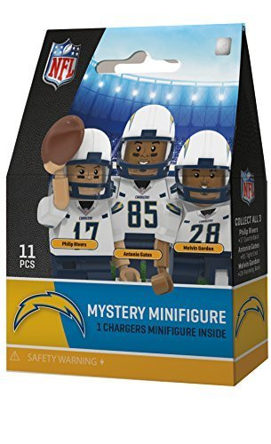Diego San Uniform Chargers (Oyo Sportstoys 2016 OYO Mystery Player Blind Pack Generation 4 NFL San Diego Chargers)