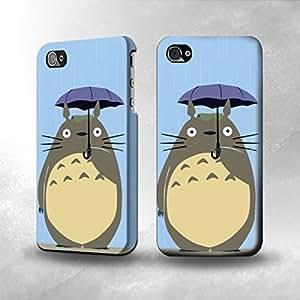Apple iPhone 4 / 4S Case - The Best 3D Full Wrap iPhone Case - My Neighbor Totoro Rain