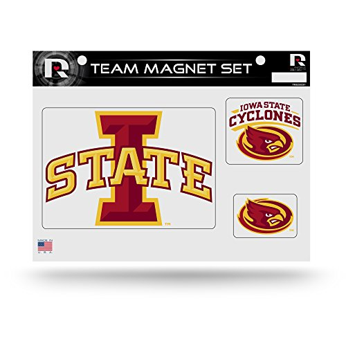 NCAA Iowa State Cyclones NCAA Team Magnet Sheet, Red, 11