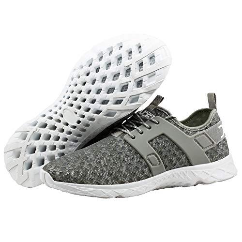Ladies Women's Mistral Grey Grey Airflow Melange Trainer Hey Dude Shoes wCvqTq