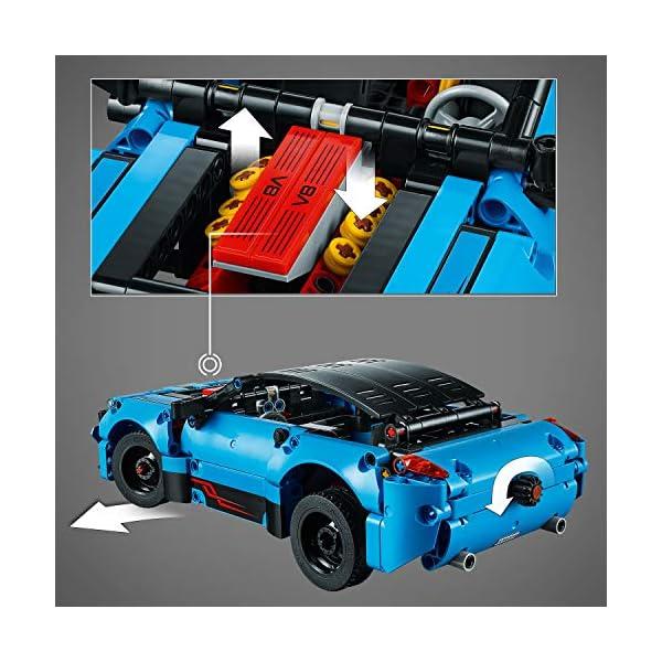 LEGO - Technic Bisarca con Auto da Trasportare,Modello 2in1,Set di Costruzioni Avanzato, 42098 4 spesavip
