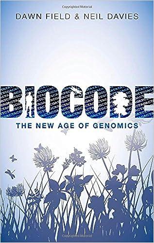 Book Biocode: The New Age of Genomics