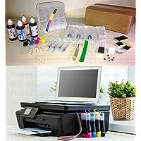 Bulk ink hp Ink Advantage 2646 + 120ml de Tinta + Presilhas Especiais