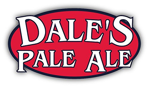 Dale's Pale Ale American Beer Drink Car Bumper Sticker Decal 5