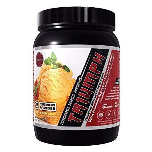 TR1UMPH by Olympus Labs (Performance Powder) 30 Servings by Olympus Labs (Peaches N' Cream Sorbet)
