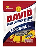 David Sunflower Seeds Original Flavor, 5.25-Ounce Bags (Pack of 12)