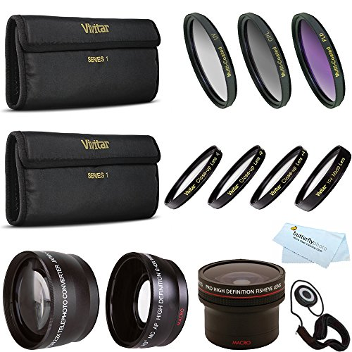 Fisheye Lens Kit For CANON VIXIA HF R82 HF R80 HF R800