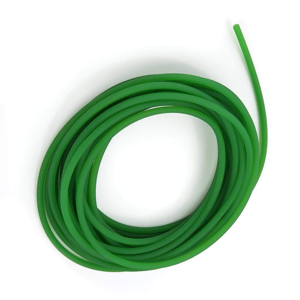 Courroie de Transmission en PU Hautes Performances Courroie Ronde en Polyur/éthane pour Transmission Couleur Verte 3mm*10m
