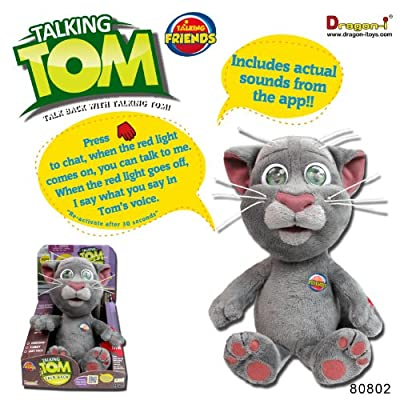 Dragon-i Toys Animated Talking Tom by Dragon-i Toys