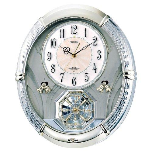 シチズン/CITIZEN リズム時計 掛時計 パルミューズルミエル(4MN430-018) B00D2YQTYC