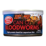 Zoo Med ZMA10 78065 Can O' Bloodworms, 3.2 oz