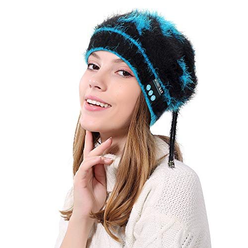 Dreamyth- Warm Soft Beanie Wireless Knit Cap Bluetooth Hat Cap Headset ()