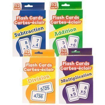 Greenbrier Math Flash Cards (Add And Subtract Flash Cards)
