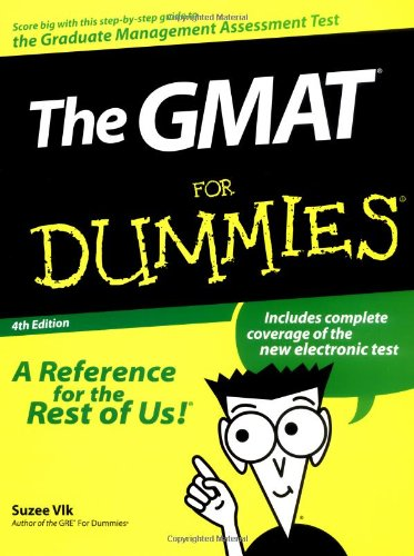 The GMAT for Dummies