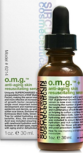 Sircuit Skin - OMG + Anti-Aging Skin Resuscitating Serum, 1oz.