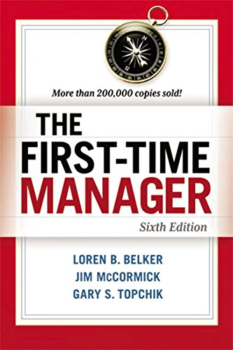 Pdf Business The First-Time Manager