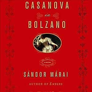 Casanova in Bolzano Hörbuch