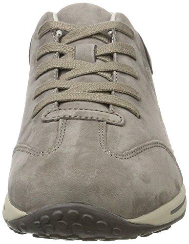 de Gris Zapatos Cordones para Comfort Basic Mujer Shoes Derby Fumo Gabor 31 4qIBwAxA